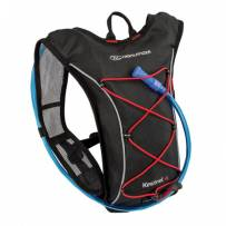Рюкзак спортивный Highlander Kestrel 4 Hydration Pack 6 Black/Red 924211